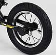 """Детский велобег """"CORSO"""" 73975  с большими колёсами и прочной рамой, для детей весом до 30 кг, желтый, фото 3"""