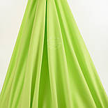 Лоскут поплина однотонного, цвет салатовый (№1377), размер 41*101см, фото 2