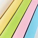 Лоскут поплина однотонного, цвет салатовый (№1377), размер 41*101см, фото 3