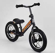 """Велобіг від дитячий """"CORSO"""" 69280 з металевим зажимом керма і регулюванням по висоті керма і сидіння, помаранчевий"""