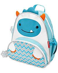 Детский рюкзак Skip Hop Zoo Pack (Zoo Little Kid Backpack) - Yeti (Етти, Снежный человек), 3+