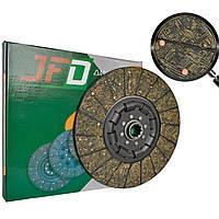 Диск зчеплення ведений 238-1601130 універсальний з безазбестовими накладками ТМ JFD