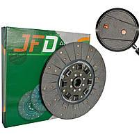 Диск сцепления МТЗ-80 70-1601130 (демпфер на резиновых пружинах с асбестовыми накладками) (JFD)