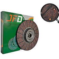 Диск сцепления ЗИЛ130-1601130-А6 (демпфер на металлических пружинах с бесабестовыми накладками)(JFD)