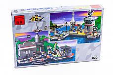 """Конструктор """"Військовий корабель (крейсер)"""" 614 деталей Brick-820, фото 2"""
