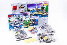 """Конструктор """"Військовий корабель (крейсер)"""" 614 деталей Brick-820, фото 3"""