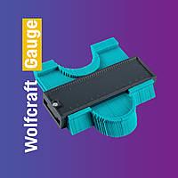 Измерительный инструмент контурный манометр Wolfcraft Contour Gauge шаблометр № K12-30 PS