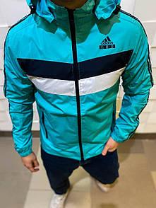 Мужская утепленная ветровка Adidas