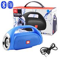 Bluetooth-колонка JBL BOOMBOX SMALL, speakerphone, радио, blue