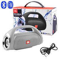 Bluetooth-колонка JBL BOOMBOX SMALL, speakerphone, радио, silver