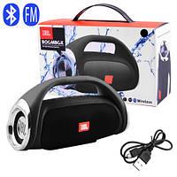 Bluetooth-колонка JBL BOOMBOX SMALL, c функцией speakerphone, радио, PowerBank