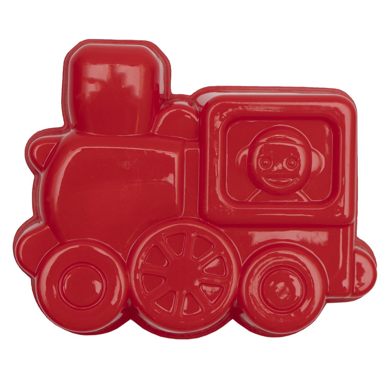 Формочка-паровозик, красный, 16 см (JH2-006-2)