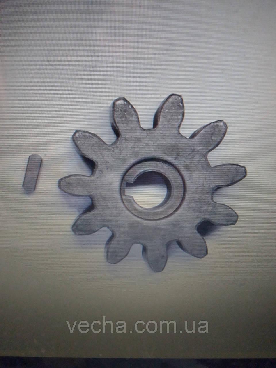 Шпонка шестеренки бетономешалки