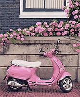 Картина по номерам 40*50 см Город роз. Нормандия