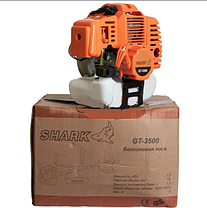 Профи! Мотокоса (мультиинструмент) Shark GT-3500 SET + Высоторез + Культиватор (6в1) (Holland), фото 2