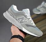 Чоловічі рефлективні кросівки New Balance 997H (сірі) 10359 демісезонна спортивна якісна взуття, фото 8