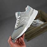 Чоловічі рефлективні кросівки New Balance 997H (сірі) 10359 демісезонна спортивна якісна взуття, фото 2