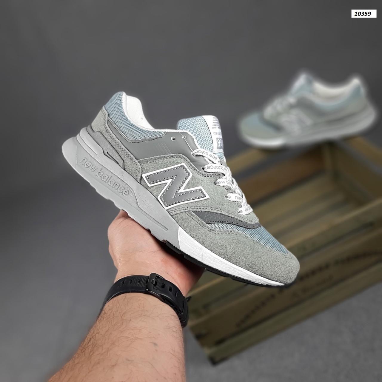 Чоловічі рефлективні кросівки New Balance 997H (сірі) 10359 демісезонна спортивна якісна взуття