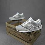 Чоловічі рефлективні кросівки New Balance 997H (сірі) 10359 демісезонна спортивна якісна взуття, фото 3