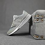 Чоловічі рефлективні кросівки New Balance 997H (сірі) 10359 демісезонна спортивна якісна взуття, фото 4