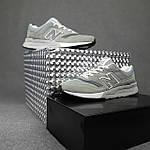 Чоловічі рефлективні кросівки New Balance 997H (сірі) 10359 демісезонна спортивна якісна взуття, фото 10