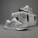 Чоловічі рефлективні кросівки New Balance 997H (сірі) 10359 демісезонна спортивна якісна взуття, фото 5