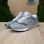Чоловічі рефлективні кросівки New Balance 997H (сірі) 10359 демісезонна спортивна якісна взуття, фото 9