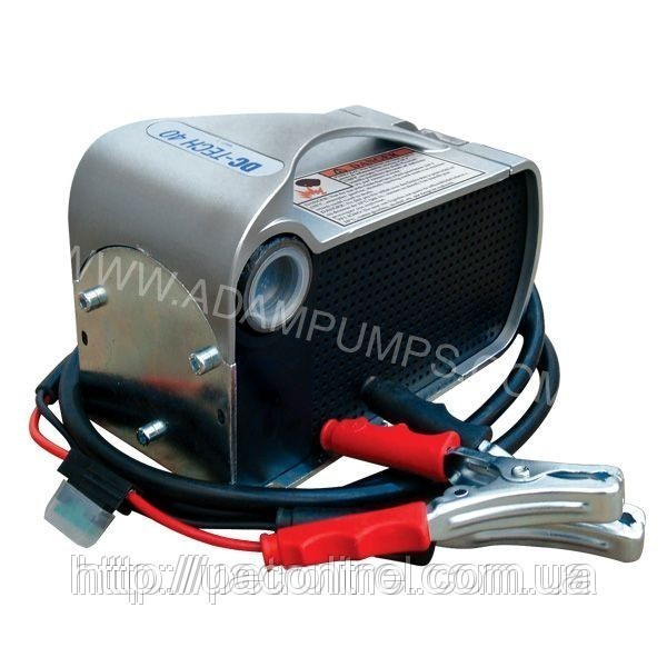 Насос для перекачки дизельного топлива DC-Tech, 12В, 40 л/мин