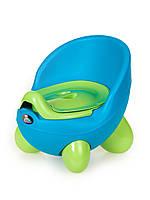 """Детский горшок-кресло """"Pasa"""" Irak Plastik, синий"""