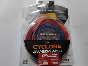 Комплект проводов для усилителя 60A CYCLONE AW-204 AGU