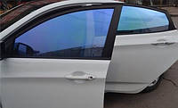 Sun Control NR Blue 20, синяя плёнка для тонировки авто