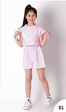 Спортивний костюм для дівчинки Mevis Блакитний р. 146, 152, 158, 164