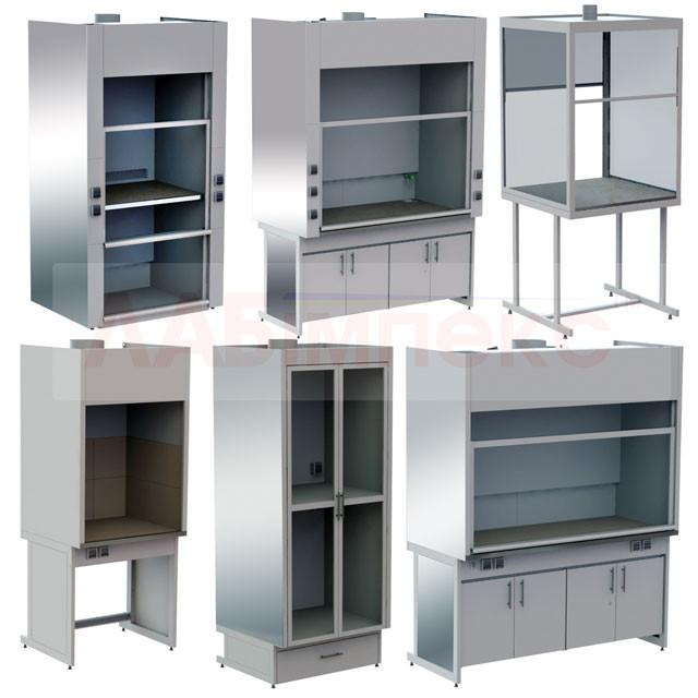 Шкафы вытяжные лабораторные (7 моделей), Украина