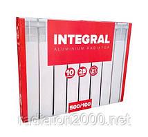 Алюминиевый радиатор INTEGRAL 500*100 Польша