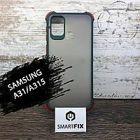 Противоударный чехол для Samsung M31/M315 Armor Frame Зеленый, фото 1
