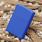 Зажигалка Zippo 229 Classic Royal Blue Matte  , фото 2