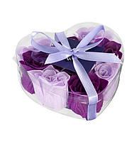 Мыло FLEN 9шт фиолетовый