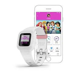 Дитячий фітнес-годинник Garmin Vivofit jr.3 Disney Princess на білому ремінці
