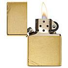 Зажигалка Zippo 240 BRUSHED BRASS , фото 3