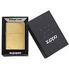 Зажигалка Zippo 240 BRUSHED BRASS , фото 5