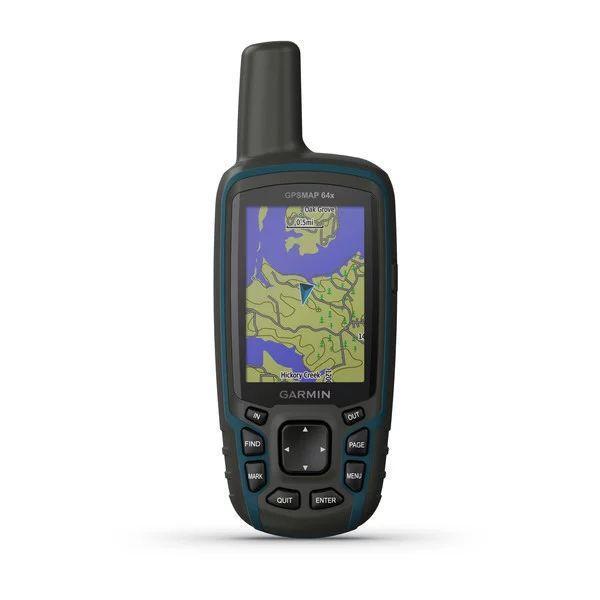 Портативний GPS навігатор Garmin GPSMAP 64X