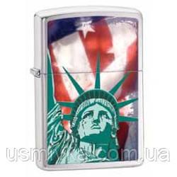 Зажигалка Zippo 28282 Statue Of Liberty