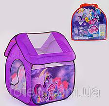 Дитячий намет 8009PN My Little Pony 112 х102 х114 см, в сумці