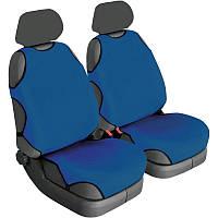 Чехлы майки для передних сидений Beltex COTTON Синие