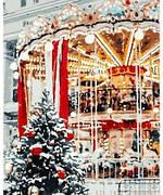 """Живопис за номерами """"Різдвяна карусель"""" 40*50см в коробке"""