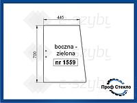 Стекло Deutz-Fahr AgroStar 4.61 4.71 6.11 6.21 6.31 4.68 4.78 6.08 6.28 6.38 TG 6.71 6.81 боковое 2 отверстия