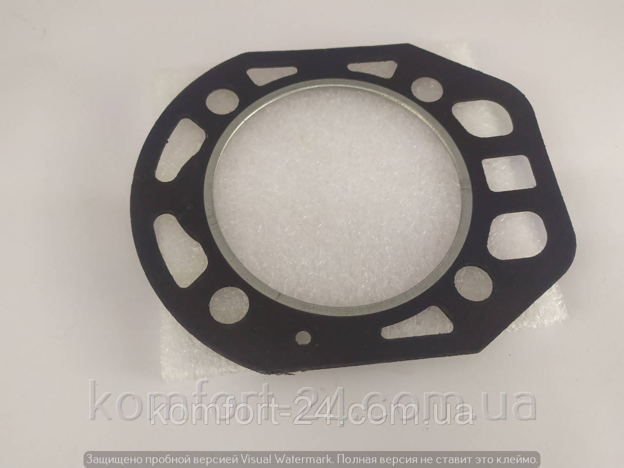 Прокладка головки циліндра двигуна мотоблока R180 (з язичком)