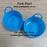 Пробка для бутыли голубая, фото 2