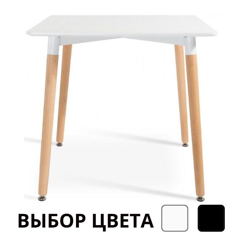 Столик обідній кухонний Bonro В-950-800 для кухні кафе (Столик обідній стіл кухонний 80х80х75)