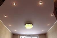 Матовый натяжной потолок по индивидуальному заказу